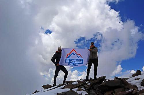 On the Summit of Bazarduzu