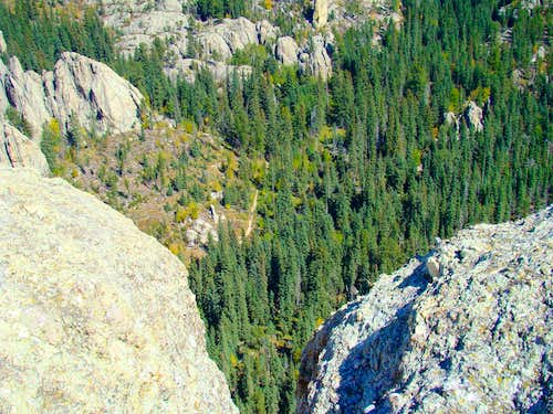 Summit View of Trail 9