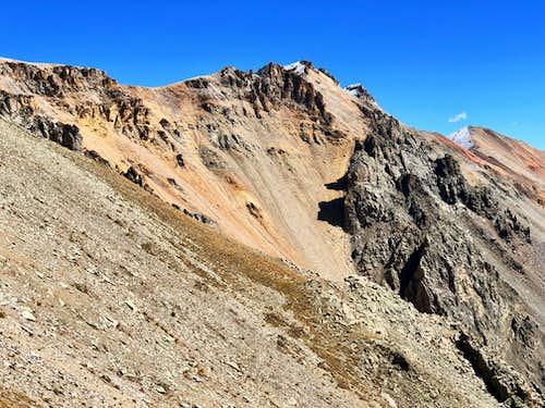 Ridge from Silver to San Joaquin