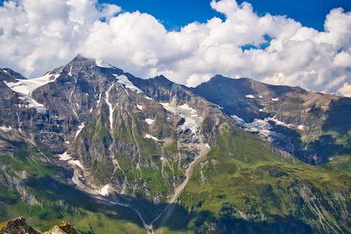 Grosses Wiesbachhorn (3564 m) and Hoher Tenn (3318 m)
