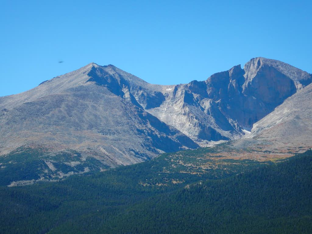 Longs Peak and Mount Meeker