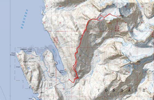 Dean Mountain Standard Route