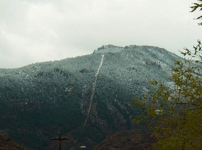 Rocky Mountain on a April...