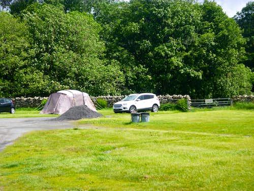 Campsite at Capel Curig