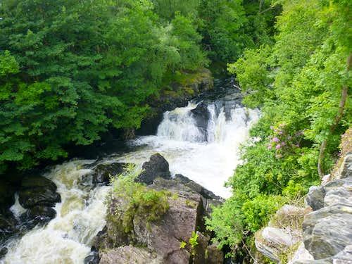The Falls of Afon Llugwy