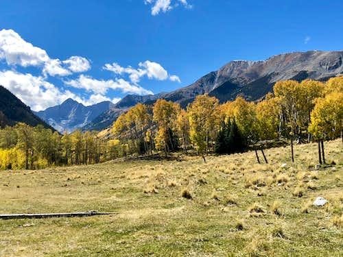California Peak and Blanca Peak