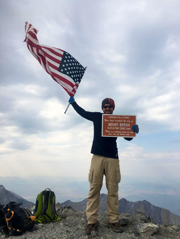 Summit of Borah