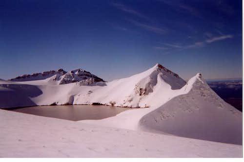 summit plateau from Tahurangi...