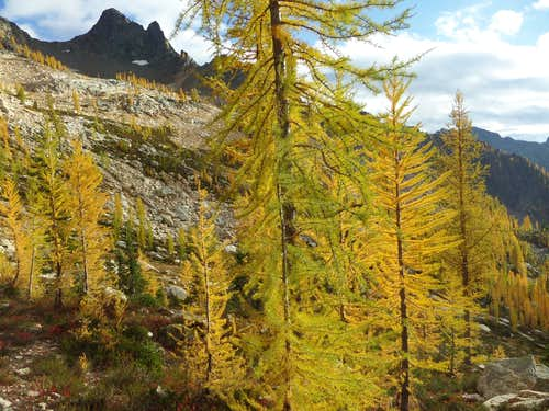 Blue Lake Peak in Fall