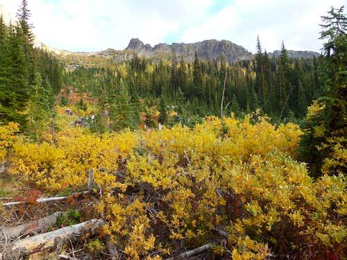 Blue Lake Peak in Fall