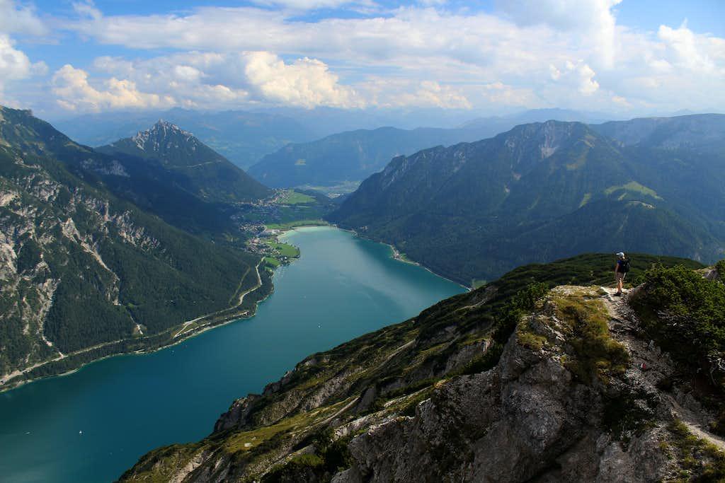 Seekarspitze - Seebergspitze traverse. South ridge of the Seebergspitze