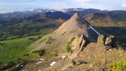 Crown Butte from Miller Mountain