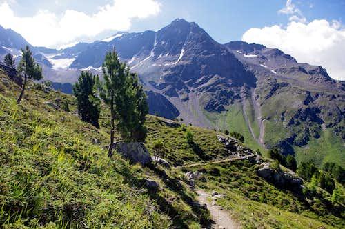 Entering in Rosim valley/Rosimtal