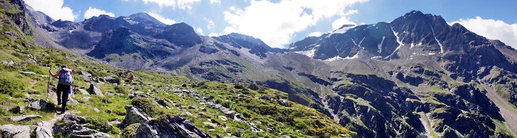 Hiking in Rosim valley/Rosimtal