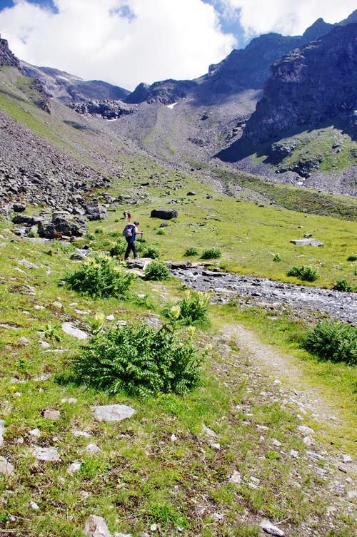 The pleasant intermediate sector of Rosim valley/Rosimtal