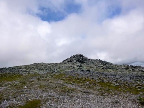 Nearing the Top of Glyder Fawr
