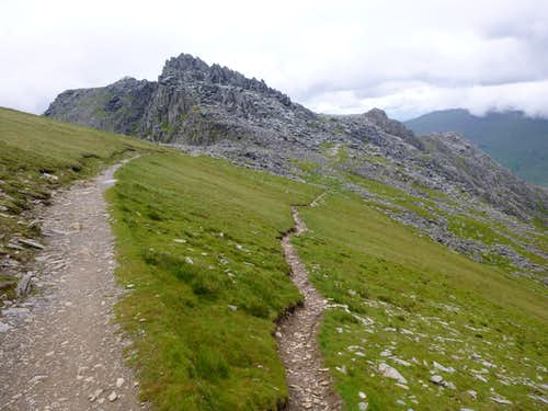 The High Trail across the Glyders
