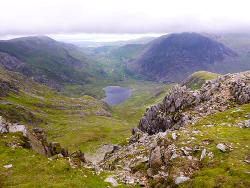 The Head of the Devil's Kitchen above Idwal