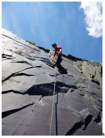 Johhnie climbs Gordon F4a at the Sidings