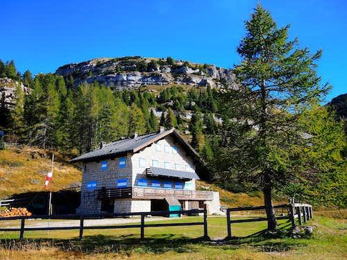 Refuge Lancia (Piccole Dolomiti)