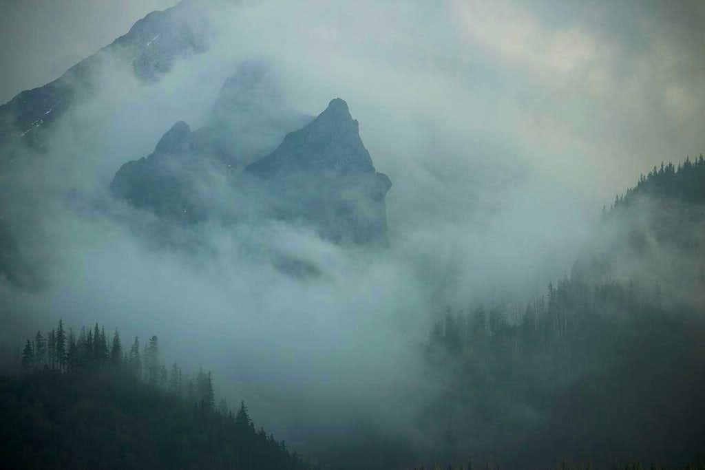 Evening mist in White Tatras