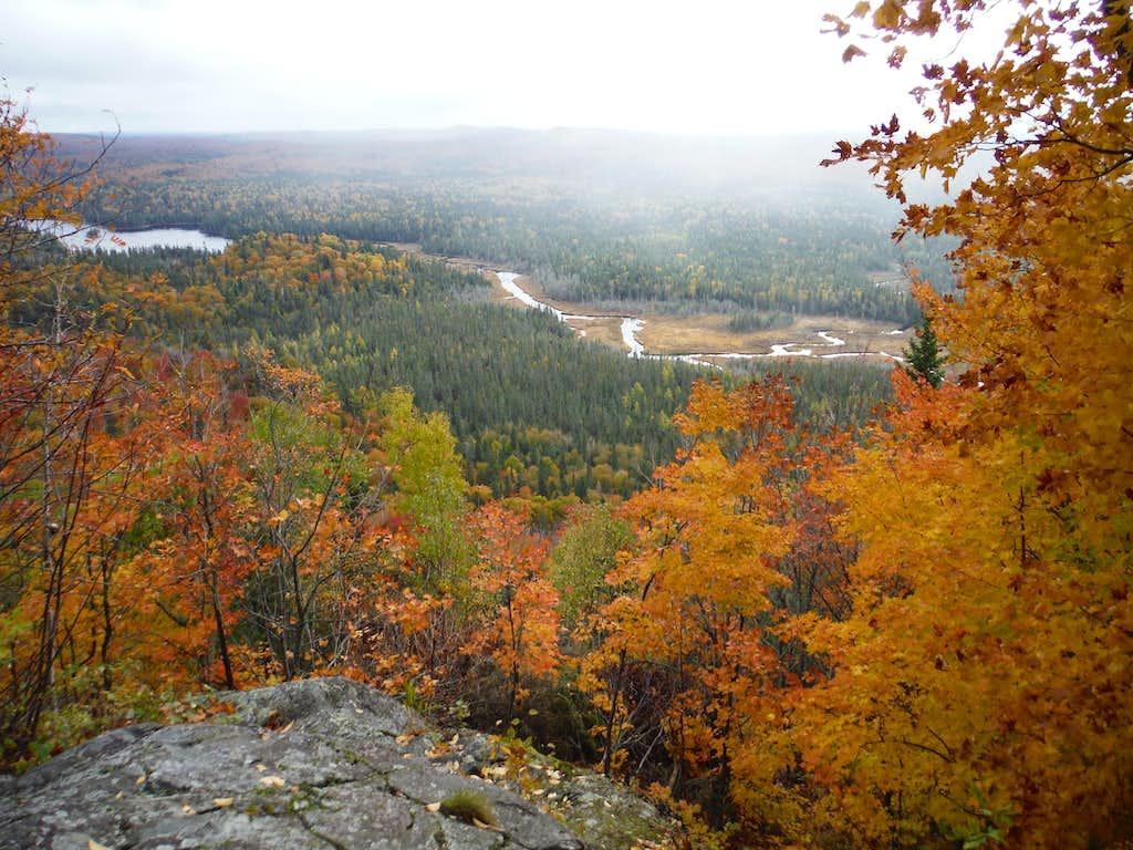 Peat Mountain October Overlook