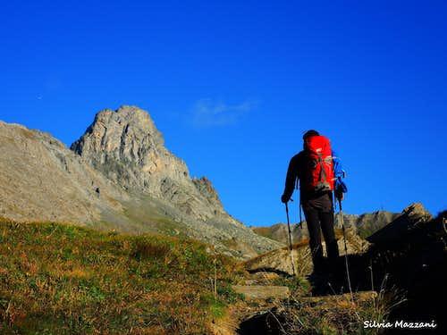 Approaching Roc della Niera