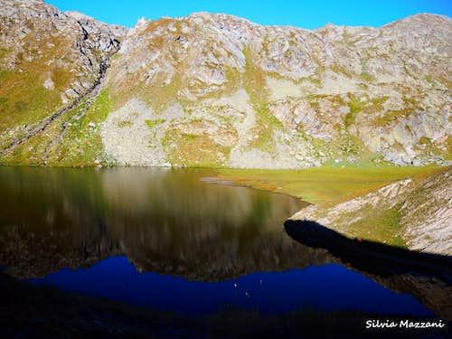 Lago Blu, Roc de la Niera