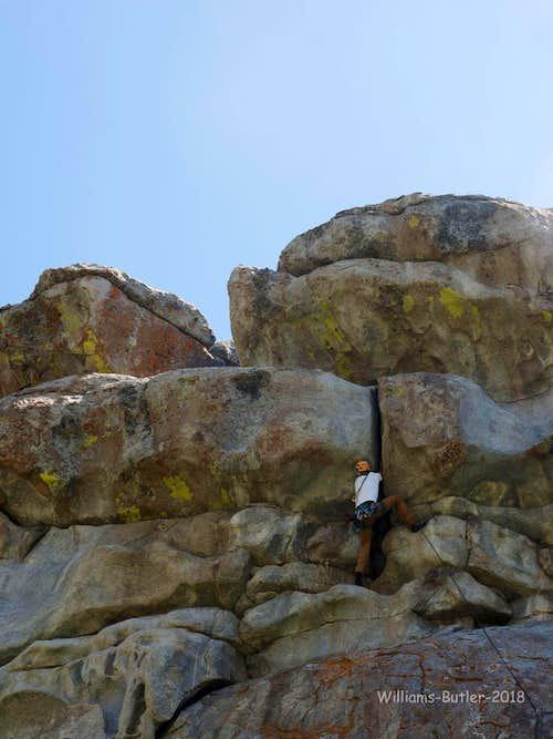 Owl Rock, 5.7-5.11d