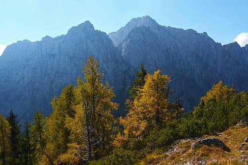 On the summit of Rjautza / Rjavica