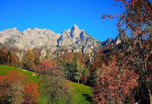 Autumn in Valle Agno di Lora