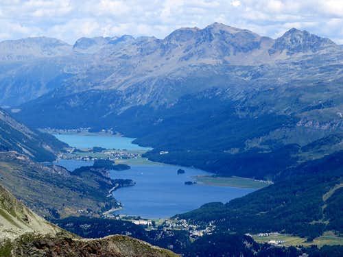 Sillersee and Silvaplanasee
