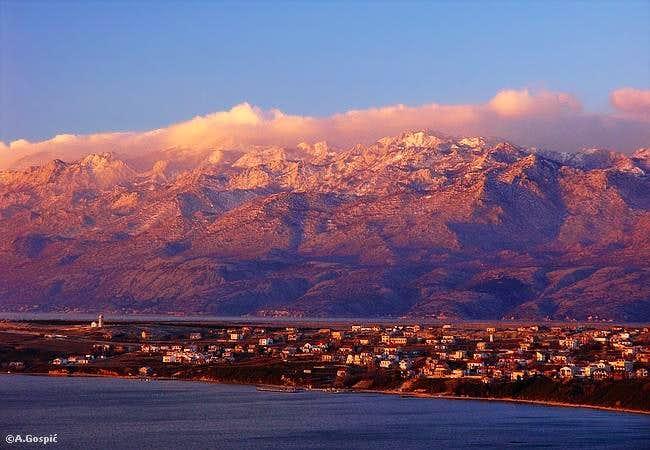 Rtina village on Bocetina...