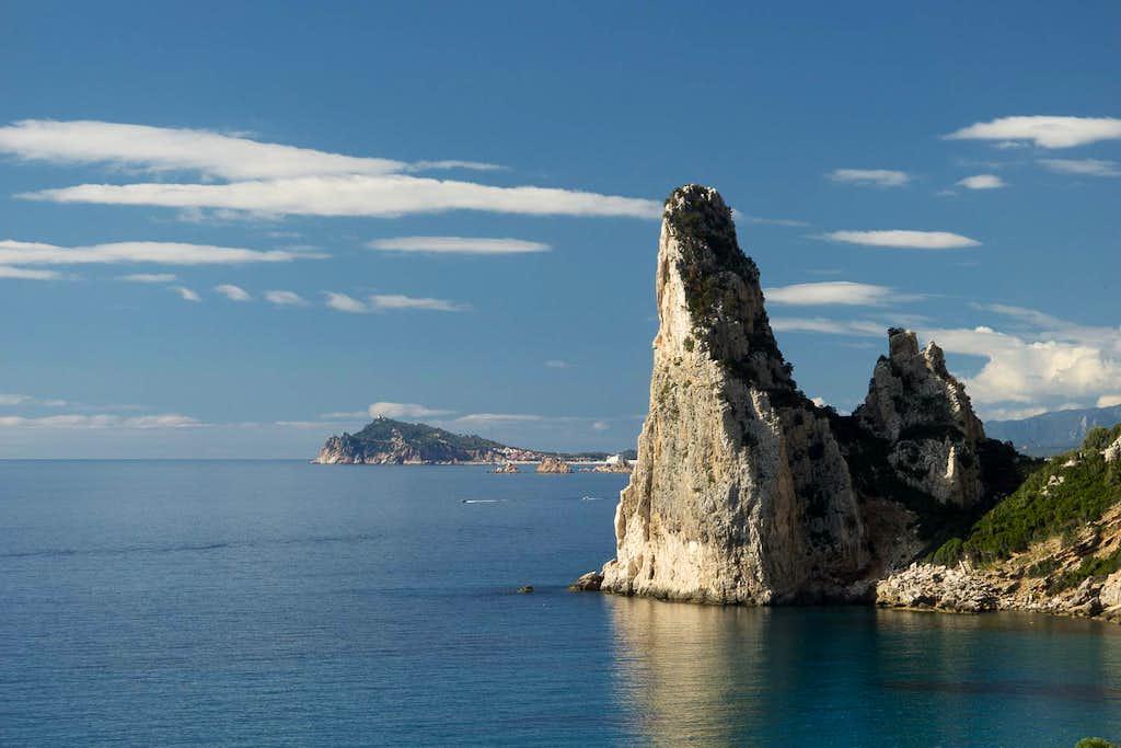Arbatax peninsula and Pietra Longa