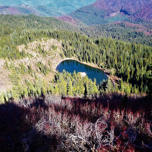Lost Lake from Noble Knob