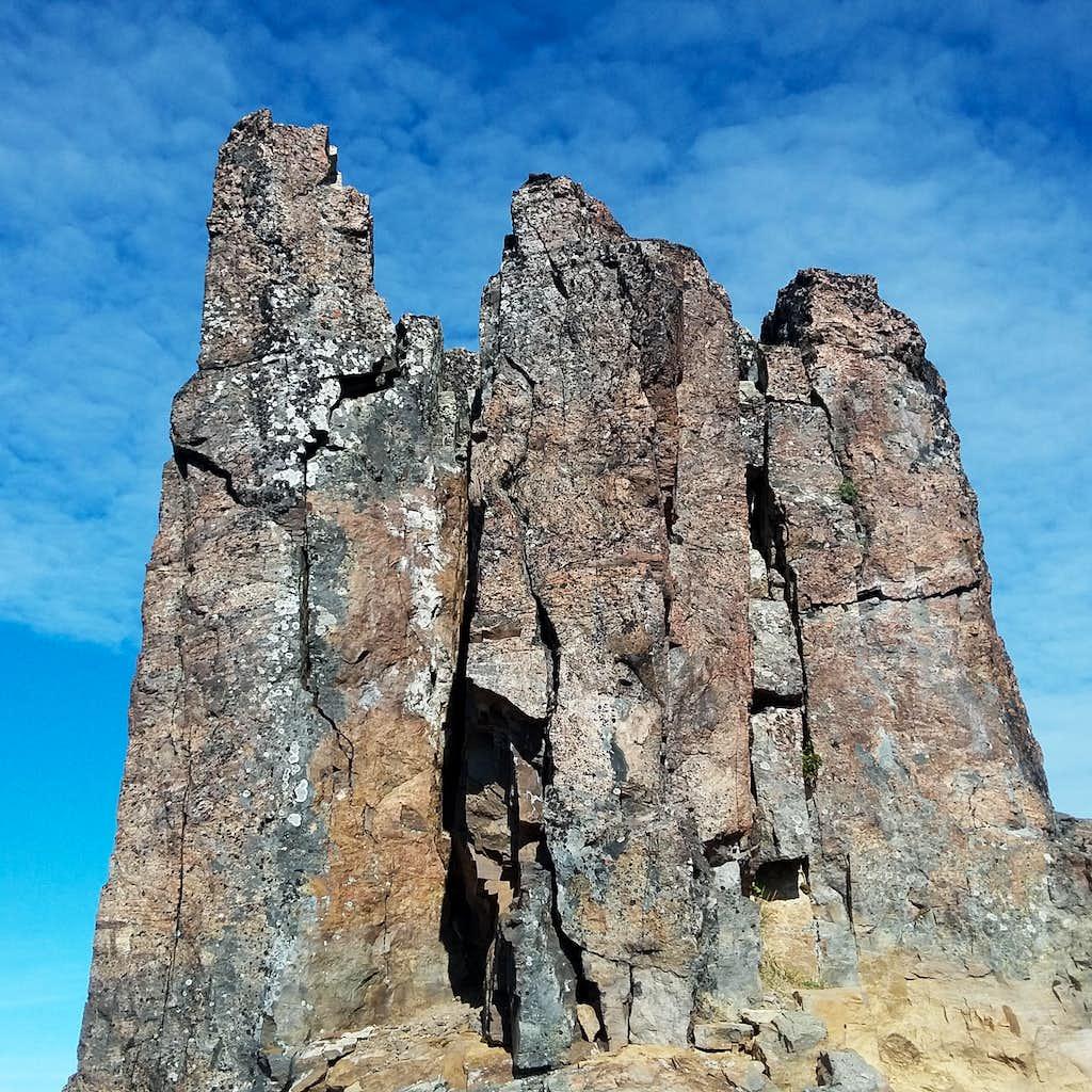 Towering spires