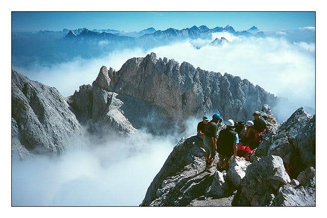 On th summit from