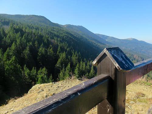 Babia ridge from Sokolica