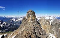 Below the Summit Block