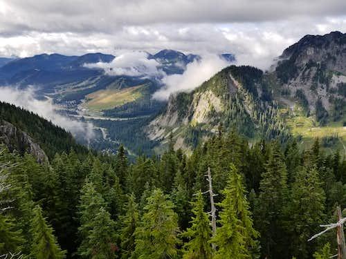 Clouds Breaking Above Alpental