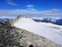 Looking Towards True Summit