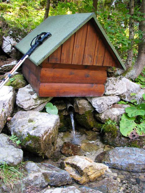 Spring near Červenec Hut