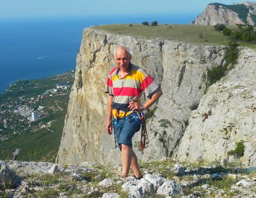 Crimea. On the summit