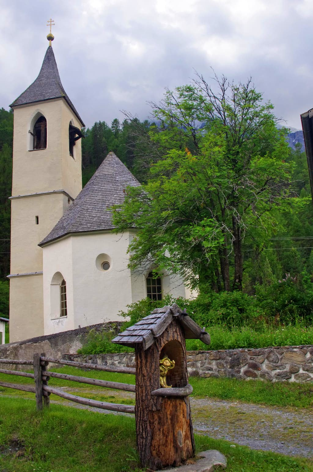 The old parish church of Solda/Sulden