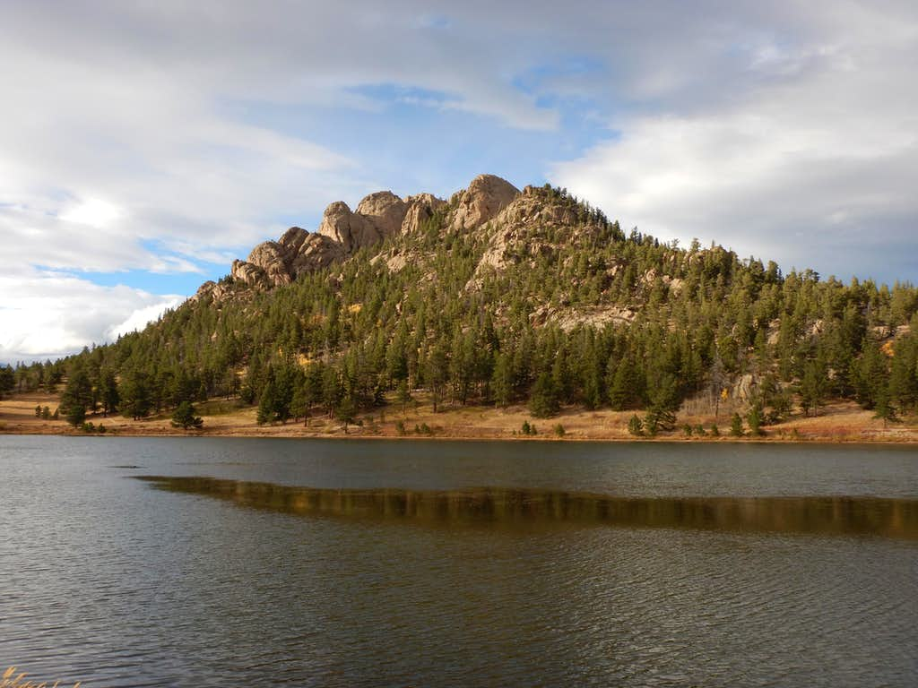 Lily Lake and Lily Mountain.