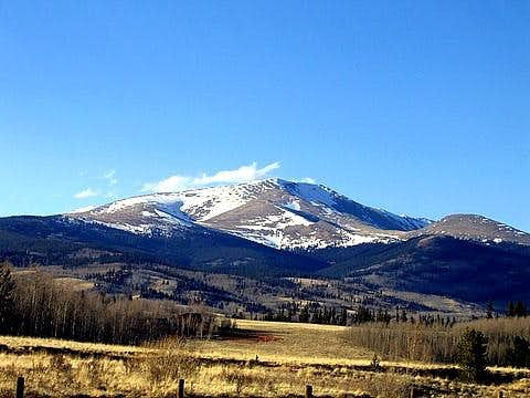 Mt Silverheels from just...