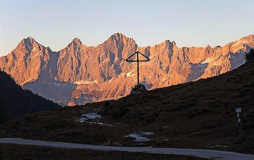 Dachstein from Ursprungalm