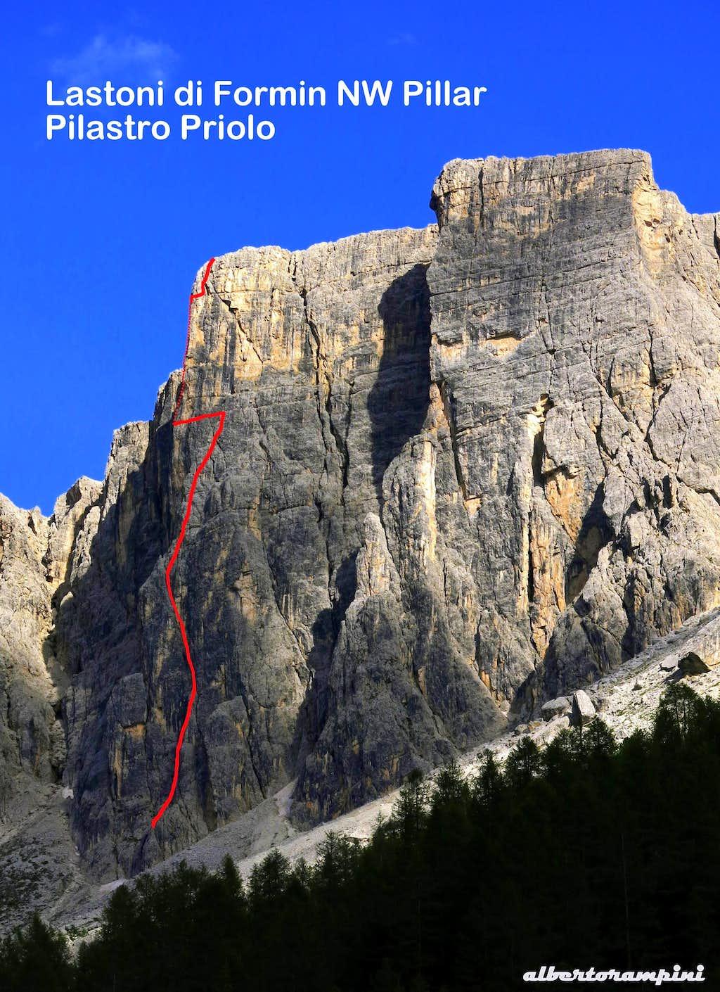 Beta of Pilastro Priolo, Lastoni di Formin