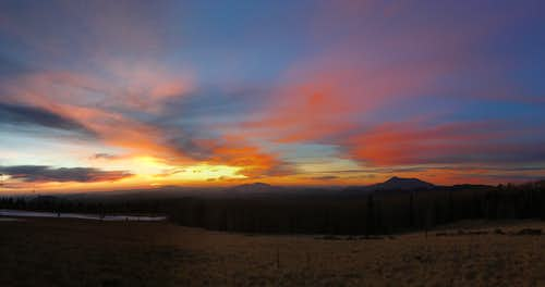 Sunset on Humpherys