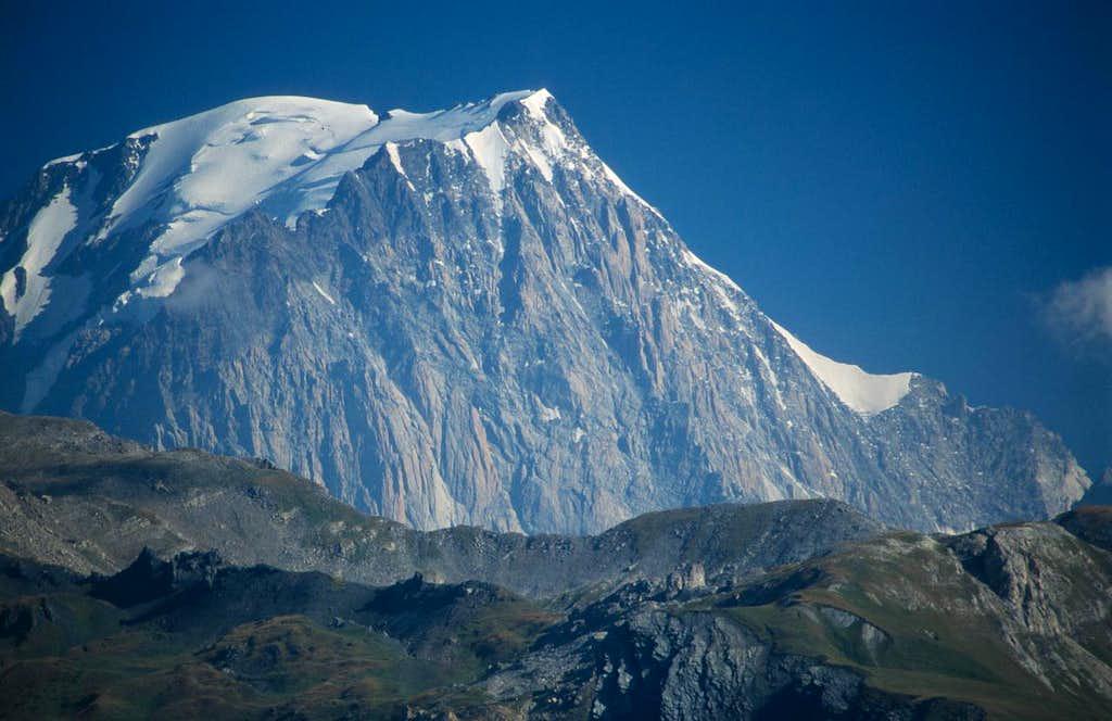 Mont Blanc southern side...